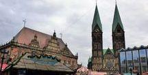 Bremen und Bremerhaven / Bremen, Weser, Bremerhaven, Schiffe, Hafen