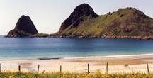 Norge / Norwegen, Västeralen, Bergen. Wasserfälle, Fjorde, Seen, Flüsse, Wald und Wiesen, Berge ----- Jeg elsker deg ---