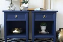 Blue Furniture / Blue is my favaourite colour - explore the gorgeous shades of blue in furniture.