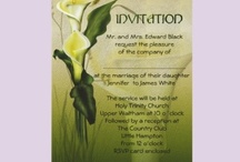 Wedding gifts and invitations / Some great ideas for wedding gifts and invitations from others and some of my own.