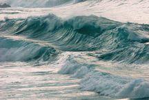 NOUBIA SHORE / blue, sand, wood, transparent, aqua, sea