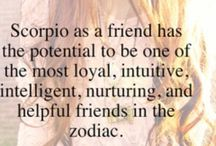Scorpio and proud :* / I'm not mean I think