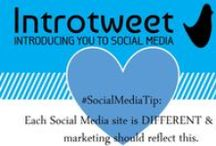 Social Media #IntrotweetTips! / Our #IntrotweetTips!