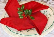 Origami - serviet og tekstil