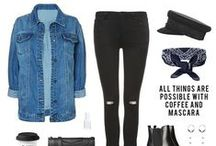 MM. OUTFIT INSPIRATION / I like money right where I can see it, hanging in my closet... With love, www.modemusthaves.com <3