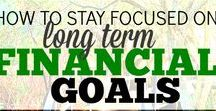 Setting Financial Goals / Overview of personal finance and creating SMART financial goals that fit your dreams and your life.  Including short-term, intermediate-term and long-term financial goals.