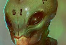 Aliens,Suits,Naves,Armas,Robos