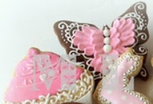 COOKIES!!! / Decorated / Iced cookies  that are pretty sweet! / by Sassa Girl