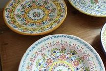 Cruz pottery from sunny Spain / by Cosas de Europa