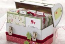Cards: Notecards, Stationary, & Matching Boxes  / by C D