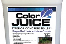 Concrete Sealer / by Diamondblades4us™ - A Cut In The Right Direction