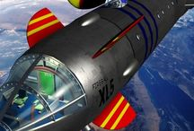 """Gerry Anderson's Fireball XL5 / Images from Gerry Anderson's """"Fireball XL5"""" found online"""