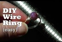 DIY Rings / Jewelry Making Tutorials for Visual Learners #jewelry #handmade #tutorial #video #diy #craft #rings