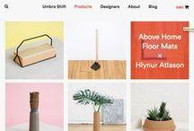 Big Cartel Class: Great Design / great shop design, font + color inspiration