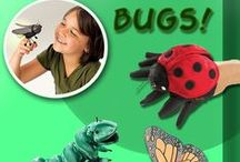 Stuffed Bugs and Plush Bug Toys / If you're looking for something plush, unusual, and small, then you're in the right place! No need to worry, these don't bite. If you are interested in purchasing an item, don't forget to use the coupon code: PINIT10 to save 10%!