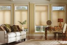 Hunter Douglas / Hunter Douglas Window Coverings custom made for windows.