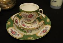 Glassware, porcelain, and china
