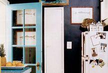 kolor we wnętrzach / colourful interiors / kolor we wnętrzach / colourful interiors Home decor ideas