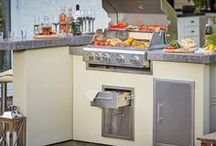 Built in BBQ Ideas / Great outdoor Kitchen inspiration