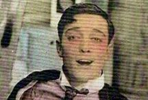"T H E .  B U S T E R . K E A T O N . B O A R D / My favourite actor of all time, Joseph Frank ""Buster"" Keaton - an incredible stuntman, timeless actor, innovative director, ingenious gag-writer, and pretty durn hot to boot.  / by Firiel"