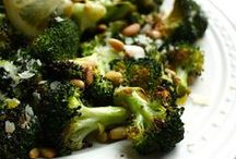 Broccoli & Cauliflower / Finding ways to get more of the good green stuff into you & your kids!