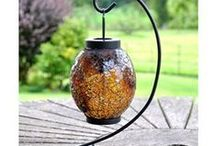 Adobe Home & Garden Lanterns / These hand made lanterns are a beautifully unique idea for lighting your home and garden, suitable for indoor and out, would make a lovely gift for someone special.