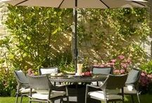 Bramblecrest Rio Rattan Furniture / Bramblecrest Rio is a gorgeous range of rattan garden furniture designed with a hardwearing, brushed rattan weave with coordinated natural colour cushions