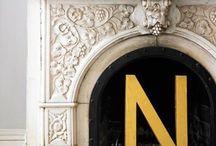 Dekoracyjne litery / Letters interior design / Dekoracyjne litery. Litery z drewna. Drewniane litery  Letters interior design/letters home interior/decor letters/ wooden letters