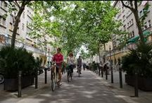 Barcelona by bike / Places in Barcelona to discover by bike