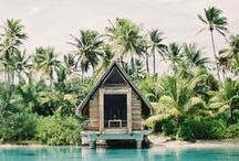 Beach Houses & Bungalows / A pin board collection of inspiring Beach Houses & Bungalows we like!