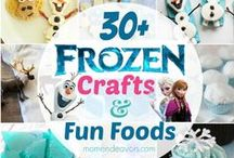 Olaf in Frozen ~~ Great Ideas To Do & Make! / Make, Play, Print, Color & Eat!