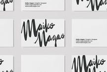 Branding / This board consists of branding strategies, branding mock ups and branding profiles made by other inspiring and talented designers.
