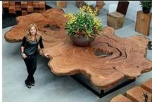 Woodworking ideas. / Ideas for projects using wood