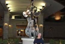 Designs by LaPaso Kinetic Sculpture / Kinetic Music sculpture I have built