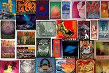 Psychodelic Rock Posters / her biri sanat eseri