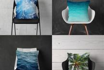 Beach Surf Decor by Nature | City Co. / Beach Surf Decor for your coastal home settings, Nature | City Co. is a Florida based e-commerce brand and staging solution, offering up our collection of nautical and tropical bedding, bath and interior accents for your coastal home living spaces and settings.  Established in 2012, Nature | City Co. draws its inspiration from endless summer days.  To check out our entire collection, visit us at: www.naturecityco.com