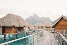 Wanderlust | Bora Bora / For when we go to Bora Bora!