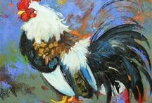 Bunnies & Chickens & Roosters