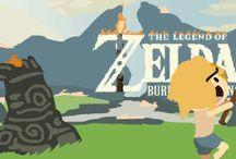 "LoZ / ""Call him Zelda one more time-"" ""Don't call him Zelda."""