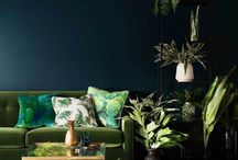 Color Inspiration | Green / Green findings gathered here in our mood board of color inspiration!