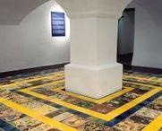 DE BASIS VERRIJKT / Een vloer kan meer zijn dan alleen de plek om op te lopen. Oppervlaktewerk in je voordeel!