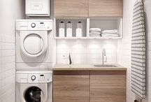 Laundry Room / For washing, drying, folding and sorting, found laundry rooms to inspire your laundry day!