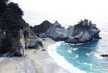 Wanderlust | California Coast / For when we go to the California Coast!