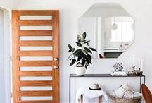 Entryways / First impressions matter, especially when it comes to the look of your home! Entryways are a great place to start, as shown through our collection of inspiring pins!