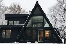 A Frame Living / Inspiring A Frame Cabins and Bungalows!