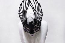 bird of prey / the shrike queen in her tower with heartstrings caught in her teeth