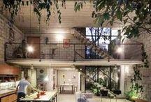 """Loft / """"O luxo na arquitetura não é diferente do luxo na vida. Luxo é ter em sua casa aquilo que te deixa feliz."""" - Isay Weinfeld ❤"""
