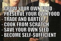 Self Sufficiency / Homesteading, Growing your own food, gardening, and taking care of yourself.
