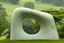 Art in the garden / Sculpture exhibited in the garden and landscape