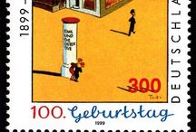 Postage stamp 切手 / by Hisae : )